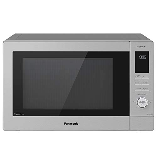 Panasonic HomeChef 4-in-1 Microwave Oven with Air Fryer, Convection Bake, FlashXpress Broiler, Inverter...