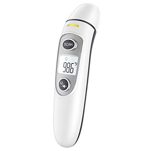 Infrared Thermometer for Adults,Forehead and Ear Thermometer for Fever, Babies, Children, Adults, Indoor and...