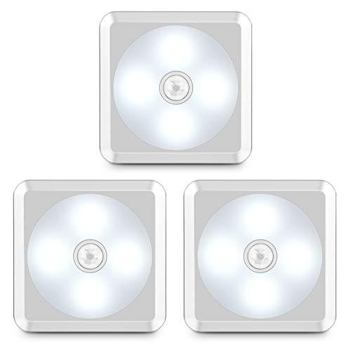 URPOWER Motion Sensor Light, Battery Operated Closet Light Wireless Motion Sensor Closet Lights Stick-on...