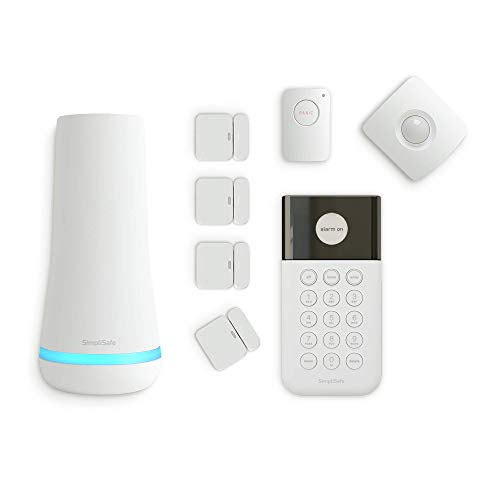 SimpliSafe 8 Piece Wireless Home Security System - Optional 24/7 Professional Monitoring - No Contract -...