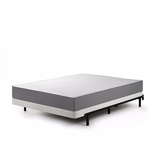 Zinus Jayanna 4 Inch BiFold Box Spring / Mattress Foundation / Zero Assembly / Sturdy Metal Structure / Low...