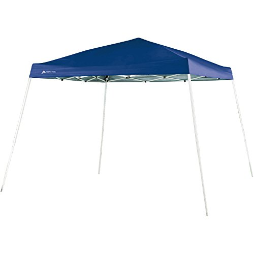 Ozark Trail 10 FT X 10 FT Slant Leg Instant Setup Canopy / Gazebo Shelter / Easy Pop Up Tent Backyard Outdoor...