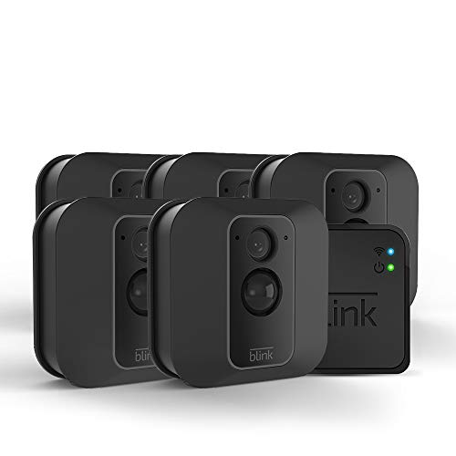 Blink XT2 Outdoor/Indoor Smart Security Camera with cloud storage included, 2-way audio, 2-year battery life...