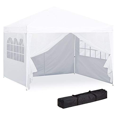 Best Choice Products 10x10ft Lightweight Portable Instant Pop Up Canopy Shade Shelter Gazebo Tent w/Carry Case...
