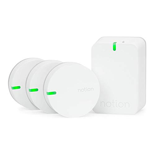 Notion Smart Home System (Gen 3): Monitor and Receive Alerts on Doors, Windows, Water Leaks, Sounding Alarms....