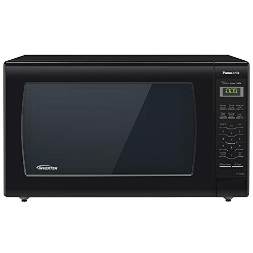 Panasonic Microwave Oven NN-SN936B Black Countertop with Inverter Technology and Genius Sensor, 2.2 Cubic...