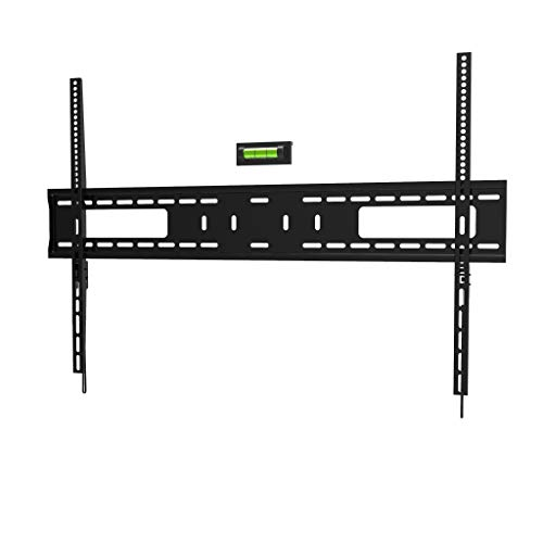"Promounts Apex Flat/Fixed Low Profile TV Wall Mount Bracket for 60-100"" Flat/Curved TVs Up to 300 lbs., VESA..."