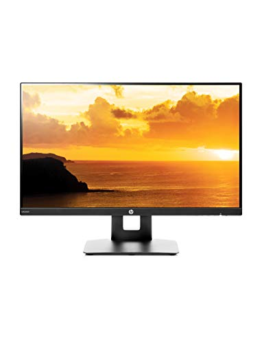 HP VH240a 23.8-inch Full HD 1080p IPS LED Monitor with Built-in Speakers and VESA Mounting, Rotating Portrait...