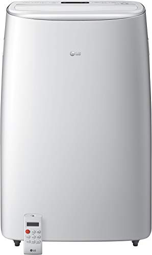 LG LP1419IVSM 14,000 BTU White Dual Inverter Smart Wi-Fi Portable Air Conditioner - Rooms up to 500 Sq. Ft