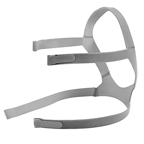 CPAP Mask Headgear Strap Replacement for ResMed AirFit F20 N10 Universal Fit, Adjustable Home Ventilator Mask...