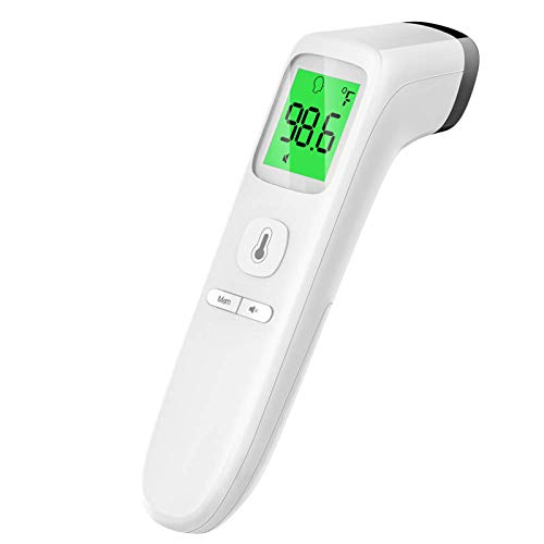 Touchless Thermometer, Forehead Thermometer with Fever Alarm and Memory Function, Ideal for Babies, Infants,...