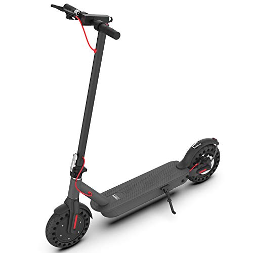 Hiboy S2 Pro Electric Scooter - 10' Solid Tires - 25 Miles Long-range & 19 Mph Folding Commuter Electric...