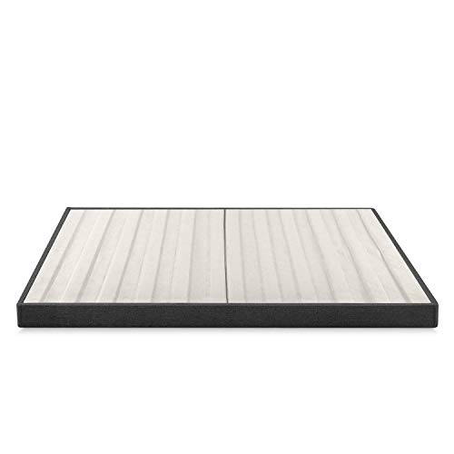 Zinus Daniel 4 Inch Essential Box Spring / Mattress Foundation / Easy Assembly Required, Queen