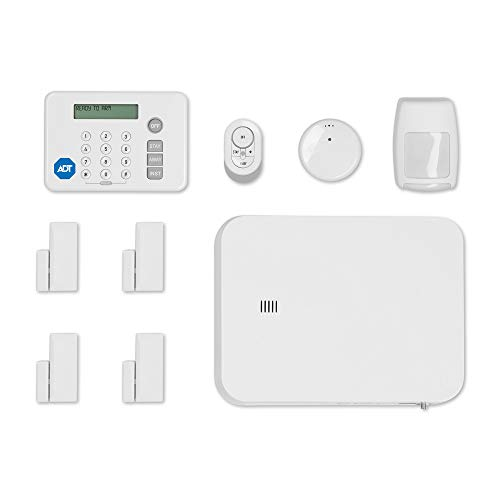 ADT DIY LifeShield 11-Piece Easy, DIY Smart Home Security System - Optional 24/7 Monitoring - No Contract -...