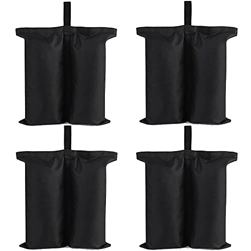 Dongawin gazebo Weights Bag,Canopy Bag, Canopy Weight Bags, Leg Weights for Pop up Canopy Tent, Patio...
