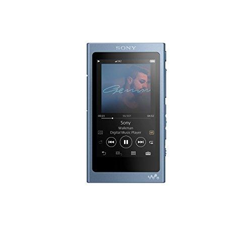 Sony NW-A45/L Walkman with Hi-Res Audio, Moonlit Blue (2018 Model)
