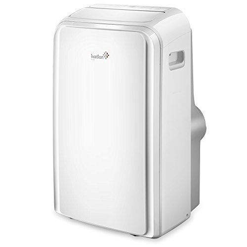Ivation 12,000 BTU Portable Air Conditioner – Dual-Hose AC Unit & Dehumidifier w/Digital LED Display,...