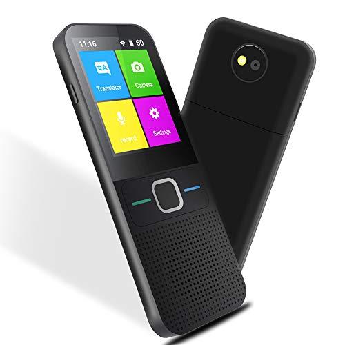 SAULEOO Language Translator Device Portable Voice Translator Supports 137 Languages WiFi Two Way Instant Voice...