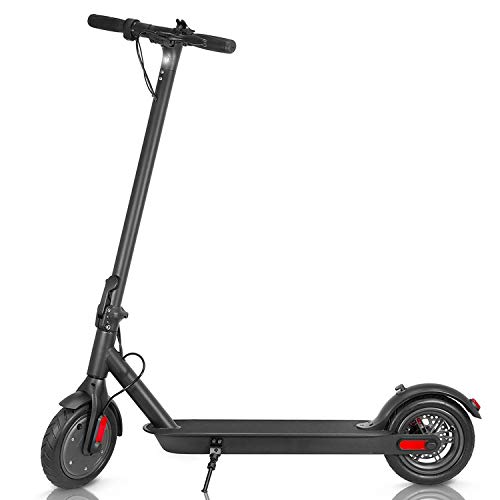Electric Scooter for Adults and Kids Lightweight Quick Folding Max 15mph Speed 15 Miles Long-Range Battery...