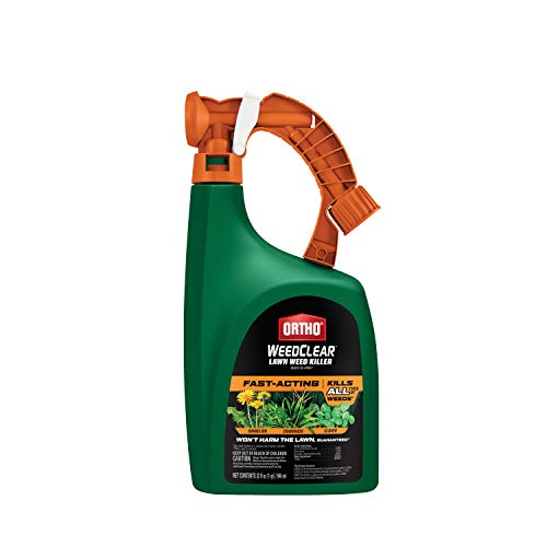 Ortho WeedClear Lawn Weed Killer Ready to Spray - Weed Killer for Lawns, Crabgrass Killer, Also Kills...
