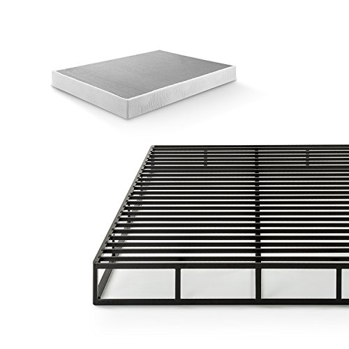 Zinus Victor 7.5 Inch Quick Lock Box Spring / Mattress Foundation / Built-to-Last Metal Structure / Easy...