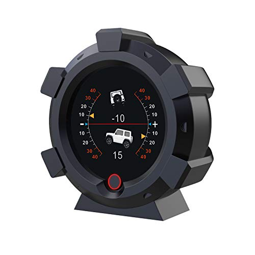 Updated GPS Speedometer Satellite Positioning Car Heads Up Display Off-Road Vehicle Pitch Angle Alarm...