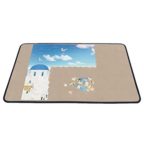 Becko Jigsaw Puzzle Board Portable Puzzle Mat for Puzzle Storage Puzzle Saver, Non-Slip Surface, Up to 1000...