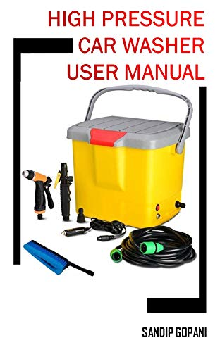 Portable 12V DC Electric High Pressure Car Washer Washer Machine Spray Gun with 16 Liter Water Tank: User...