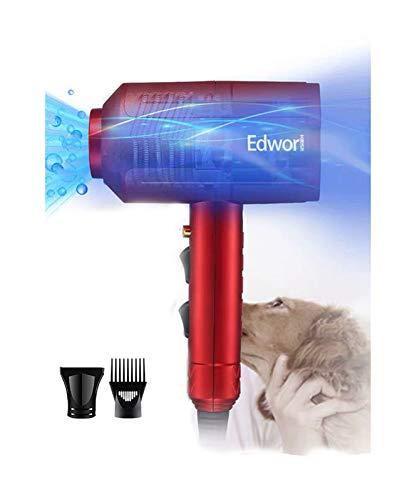 IONE Dog Cat Hair Dryer,Professinal Double Force Gooming Blower Dryer for Medium/Small Pets,IEC Certificated
