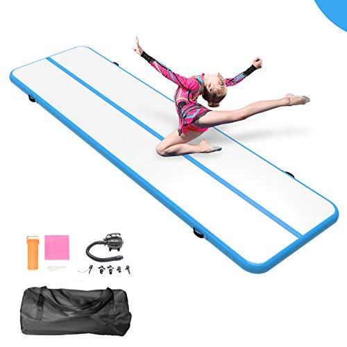 13ft/16ft/20ft/ Inflatable Gymnastics Air Track Tumbling Mat Training Mats Tumbling Mats Practice...
