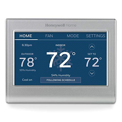 Honeywell Home RTH9585WF1004 Wi-Fi Smart Color Thermostat, 7 Day Programmable, Touch Screen, Energy Star,...