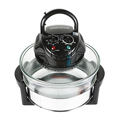 Infrared Halogen Convection Oven 12 Quart 1300W Air Fryer Oven Healthy Meals Great For Chicken French Fries...