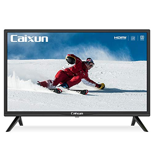 Caixun 24-Inch TV 720P Basic LED HD TV-C24 Flat Screen Television Built-in HDMI,USB,VGA,Earphone,Optical Ports...