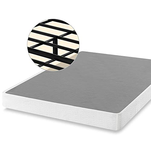 ZINUS 7 Inch Smart Metal Box Spring / Mattress Foundation / Strong Metal Frame / Easy Assembly, Queen
