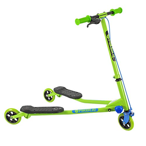Yvolution Y Fliker Air A1 Swing Wiggle Scooter | Three Wheels Drifter for Boys and Girls Age 5 Years Old and...
