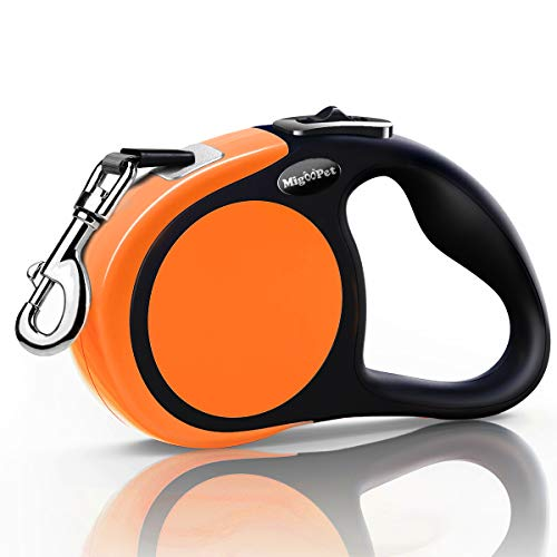 Heavy Duty Retractable Dog Leash 16 Foot Strong and Durable Walking Leash for S To L Dogs Up To 45/115 lbs,...