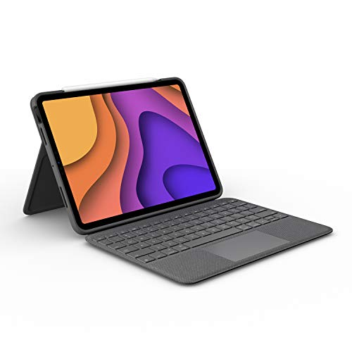 Logitech Folio Touch iPad Keyboard Case with Trackpad and Smart Connector for iPad Air (4th Generation) –...