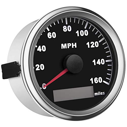 SAMDO Universal GPS Speedometer Boat Gauge With Odometer 85mm 160MPH , ATV Motorcycle Marine GPS Speedometer