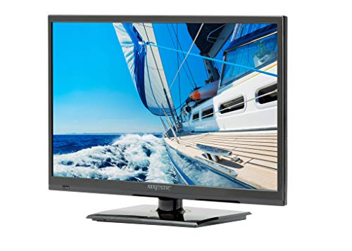 Majestic 19' LED 12V HD TV w/Built-in Global Tuners - 1x HDMI