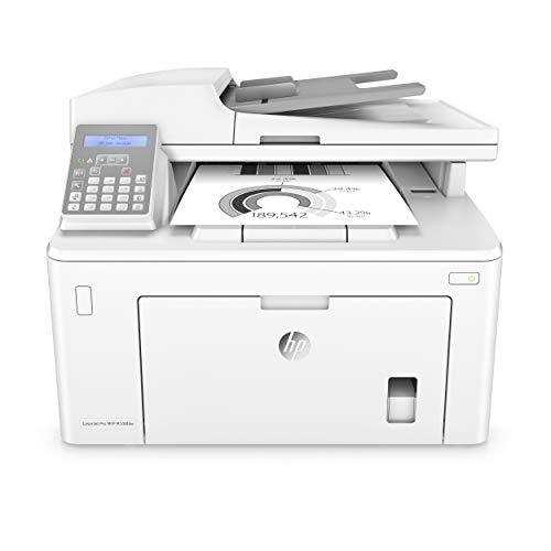 HP Laserjet Pro M148fdw All-in-One Wireless Monochrome Laser Printer, Fax, Mobile & Auto Two-Sided Printing,...
