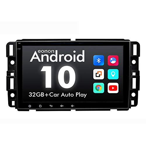 Eonon Double Din Car Stereo, Eonon 8 Inch Android 10 Car Radio Compatible with Chevrolet/GMC/Buick, GPS...