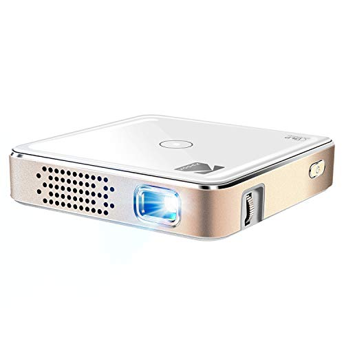 Kodak Ultra Mini Portable Projector - HD 1080p LED DLP Rechargeable Pico Projector - 100' Display, Built-in...