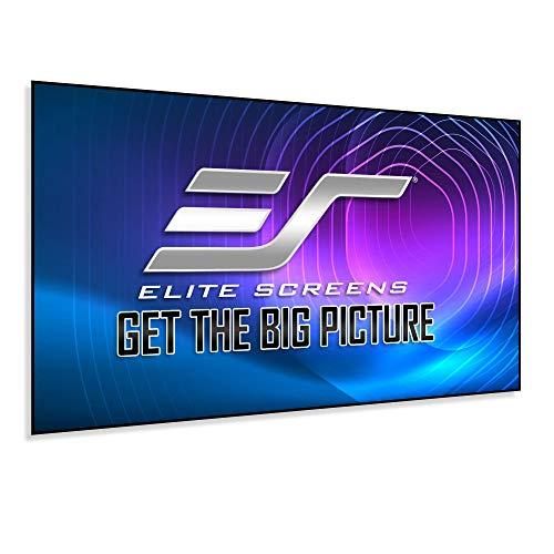 Elite Screens Aeon Series, 120-inch 16:9, 8K / 4K Ultra HD Home Theater Fixed Frame EDGE FREE Borderless...