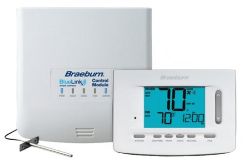 Braeburn 7500 Universal Wireless Kit 7, 5-2 Day or Non-Programmable 3H / 2C (Includes Thermostat, Control...