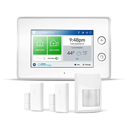 Samsung Electronics F-ADT-STR-KT-1 SmartThings ADT Wireless Home Security Starter Kit with DIY Smart Alarm...