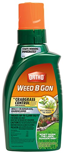 Ortho 9906010 071549990602 B Gon Weed Killer for Lawns Plus Crabgrass Control Concentr, 32-Ounce, Brown/A