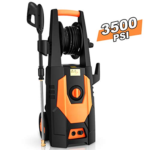 mrliance 3500PSI Electric Pressure Washer 2.0GPM Power Washer 1800W High Pressure Washer Cleaner Machine with...