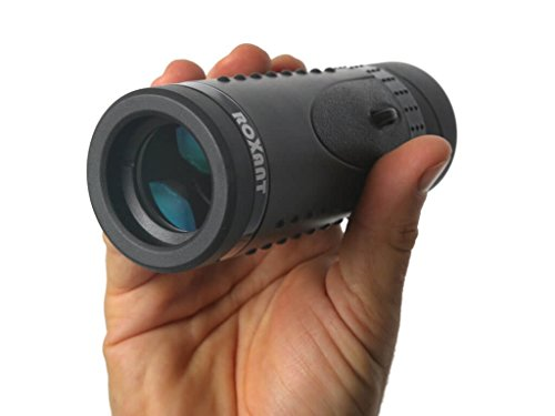Authentic ROXANT Grip Scope High Definition Wide View Monocular - with Retractable Eyepiece and Fully Multi...