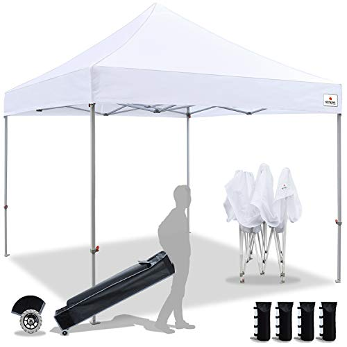 KEYMAYA Replacement Wheeled Roller Bag for 10x10 Pop Up Canopy Tent, Canopy Bag Only