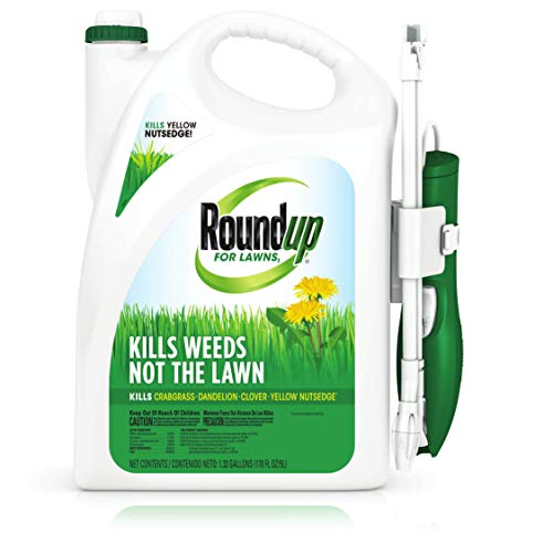 Roundup For Lawns1Ready to Use - All-in-One Weed Killer for Lawns, Kills Weeds - Not the Lawn, One Solution...
